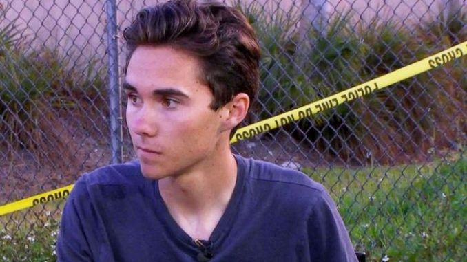 David Hogg refuses to return to school until all guns are banned in America