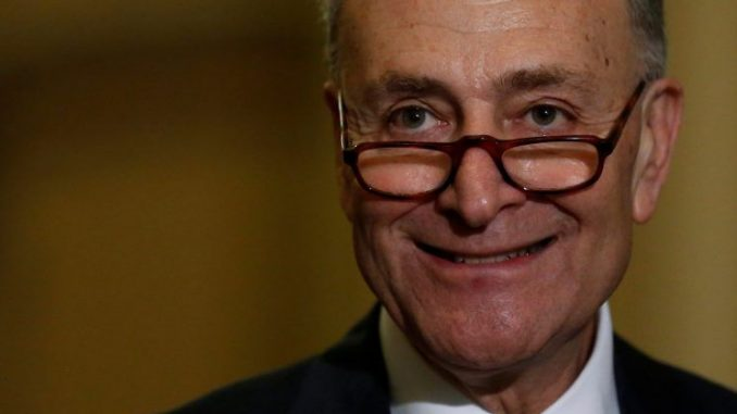 Chuck Schumer refers to Trump as world's most dangerous man