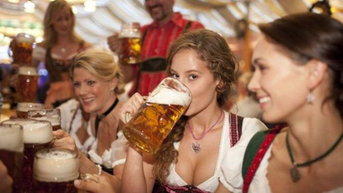 People who drink beer or wine every day are more likely to live past the age of 90 than those who exercise daily, according to a new study.