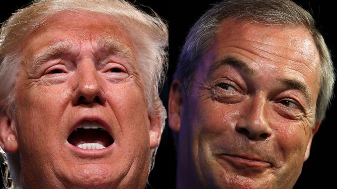 Nigel Farage reveals most people in Britain support Donald Trump