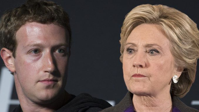 Facebook have rebuked Hillary Clinton for spreading fake news about their platform and why she lost the election on social media.