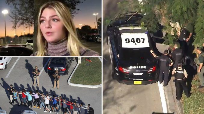 The mainstream media narrative about the Florida school shooting has been debunked by explosive eyewitness interviews that confirm there were multiple shooters involved in a co-ordinated attack.