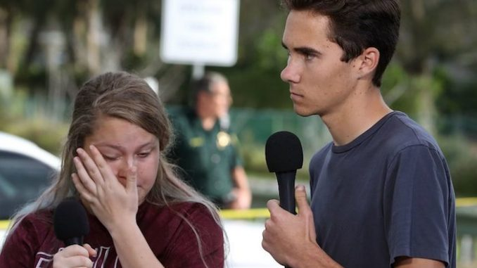 Florida school shooting survivor says police told them it was a drill with fake guns