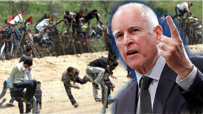 California Governor Jerry Brown signs bill granting voting rights to illegal aliens