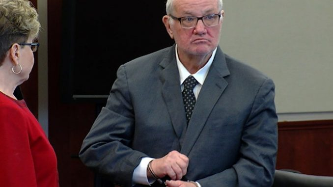 former judge and politician will serve as little as four years in prison after pleading guilty to 21 counts of human trafficking of minors.