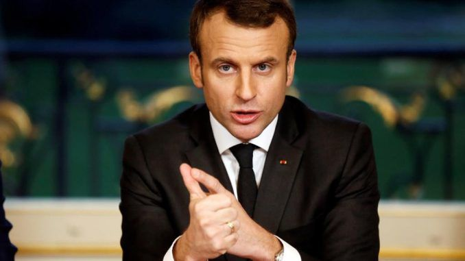 French President Emmanuel Macron admits Western government's lied about Syria having chemical weapons
