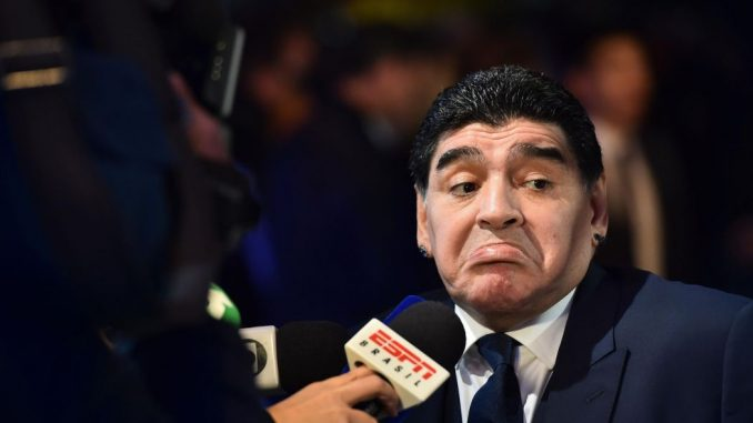 Argentinian soccer superstar Diego Maradona has been banned from entering the United States after insulting President Donald Trump on live TV.