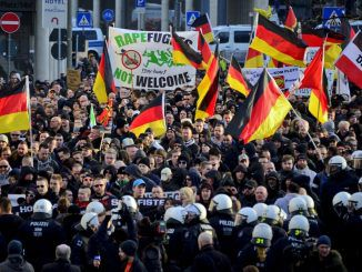 German women protestors are rising up in the millions against a government refusing to protect them from sex attacks by migrants.