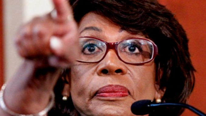 Maxine Waters has called for a parental advisory warning every time the President of the United States, Donald Trump, is on TV.