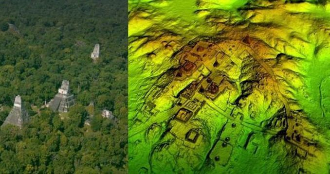 An ancient Mayan 'megapolis' has been discovered under the dense jungle of northern Guatemala, after being hidden from humanity for millennia.