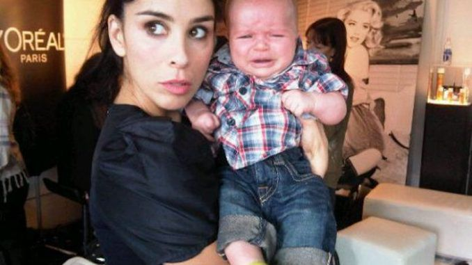"""Sarah Silverman says she will """"eat an aborted fetus"""" as a way to """"take a stand"""" against those who believe unborn babies are human."""