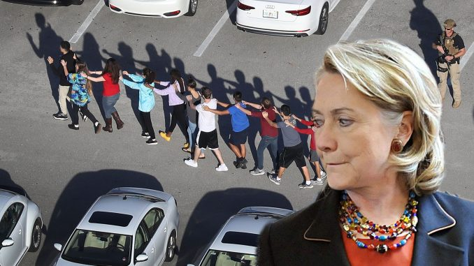 Hillary Clinton has been caught lying about school shooting statistics in order to deceitfully further the leftwing gun control agenda.
