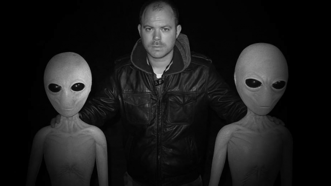 A US based filmmaker claims to have channeled reptilian entities which he says inspired him to produce a movie about UFOs and aliens.