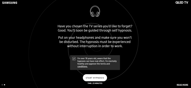 samsung-hypnotize-you-tv-show