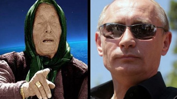 "Baba Vanga, the blind psychic who predicted Brexit and the 9/11 terror attacks, also prophesied that Vladimir Putin would ""rule the world."""