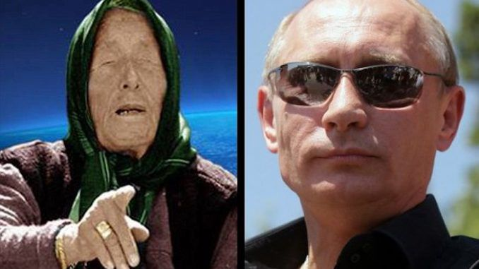 """Baba Vanga, the blind psychic who predicted Brexit and the 9/11 terror attacks, also prophesied that Vladimir Putin would """"rule the world."""""""