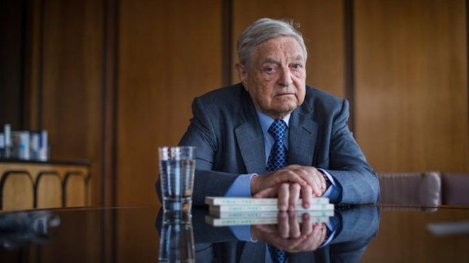 George Soros says he supports the banning of Facebook and Google