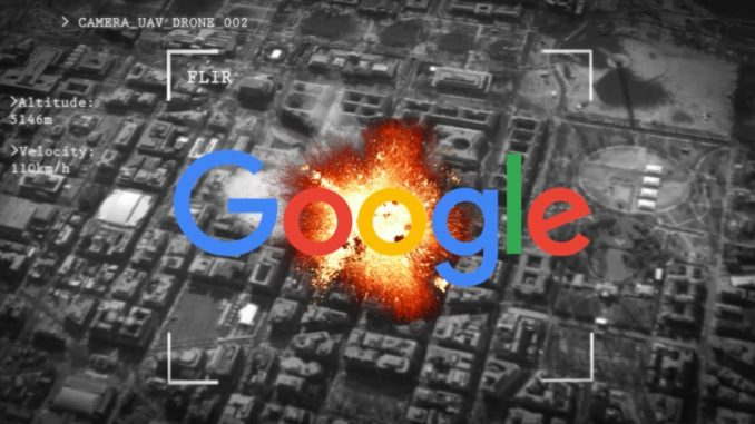 Google agrees to help Pentagon build AI powered drones