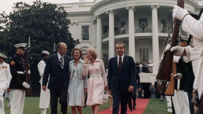 President Nixon hid a time capsule in the White House that contains evidence of theexistence of alien life and ET contact with humans.