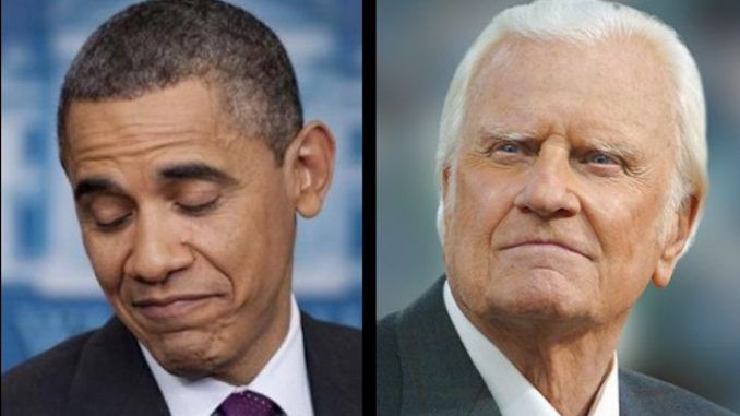 Former President Barack H. Obama has confirmed he will not attend the funeral for legendary Christian minister Billy Graham.