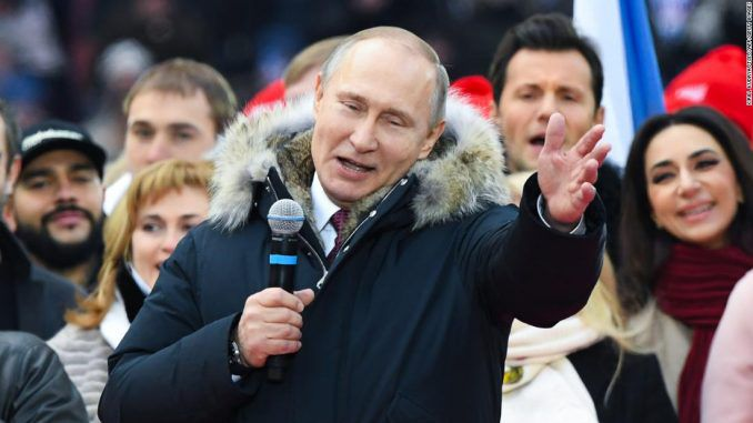 Russian citizens reject New World Order as Putin wins election by a landslide