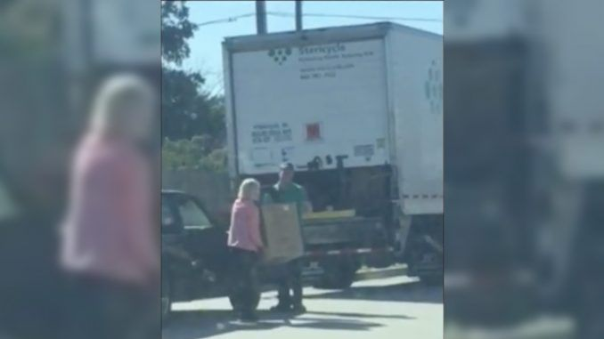 A South Carolina abortion clinic has been caught on video illegally transporting and selling the bodies of aborted fetuses from a car.