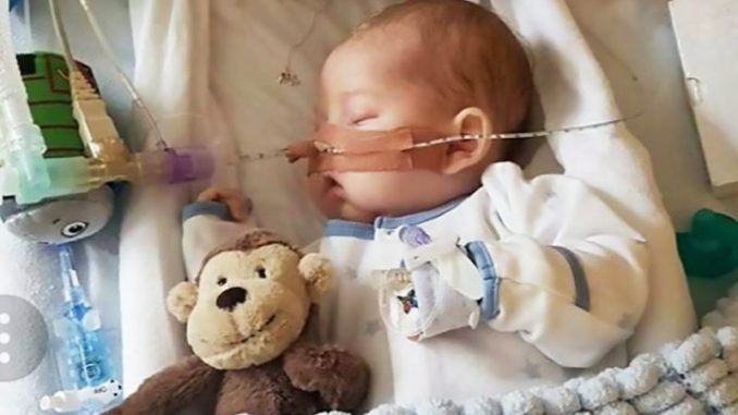A British court has sentenced a baby to death Tuesday by upholding a ruling ordering the baby taken off life support.