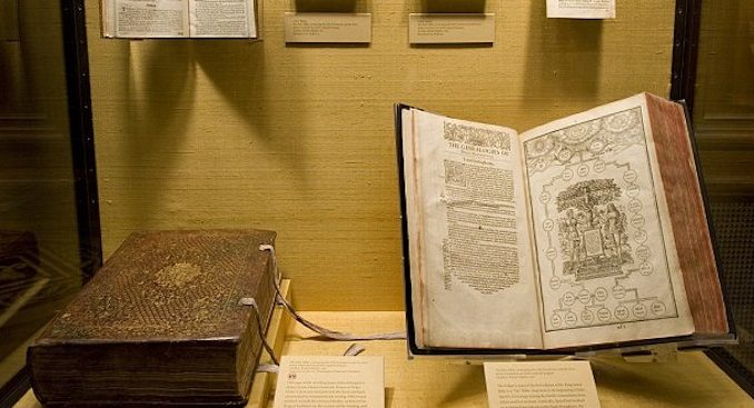 """An early draft of The King James Bible has been found at the University of Cambridge and experts claim it proves the Bible is """"fiction."""""""