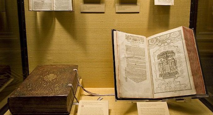 "An early draft of The King James Bible has been found at the University of Cambridge and experts claim it proves the Bible is ""fiction."""