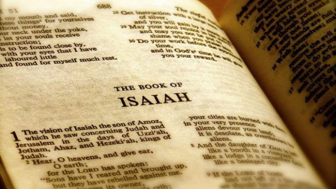 Archaeologists have discovered the first physical evidence of the prophet Isaiah, the Biblical figure from antiquity.