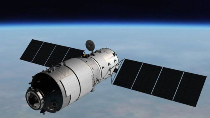 An out-of-control Chinese space station with 'highly toxic' chemicals onboard is hurtling towards Lower Michigan, according to experts.
