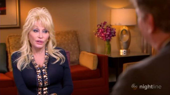 Dolly Parton slams ABC host who tries to force her into trash-talking Trump