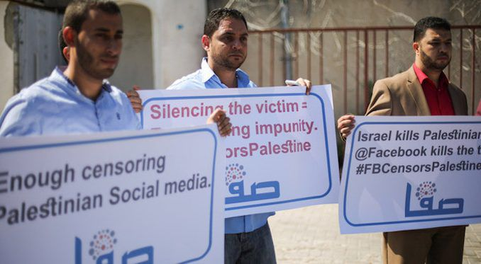 Facebook ban hundreds of Palestinian people at request of Israeli government