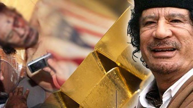 10 billion dollars stolen from Gaddafi's accounts in Europe