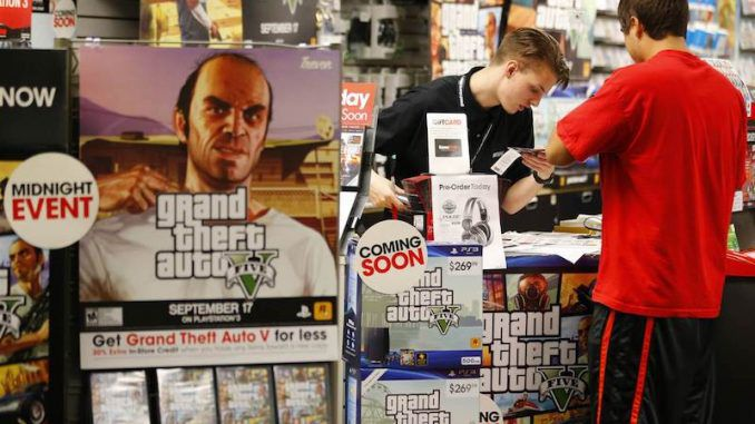 Makers of Grand Theft Auto ordered to ban guns from their video games in California
