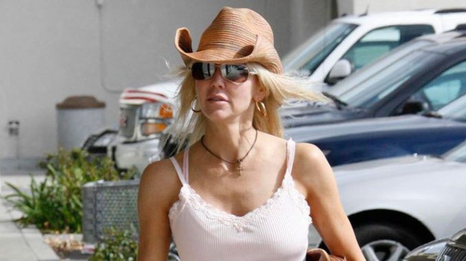 Actress Heather Locklear arrested for asserting her Second Amendment rights