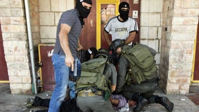 Israeli police disguised as journalists abduct and shoot at Palestinian students