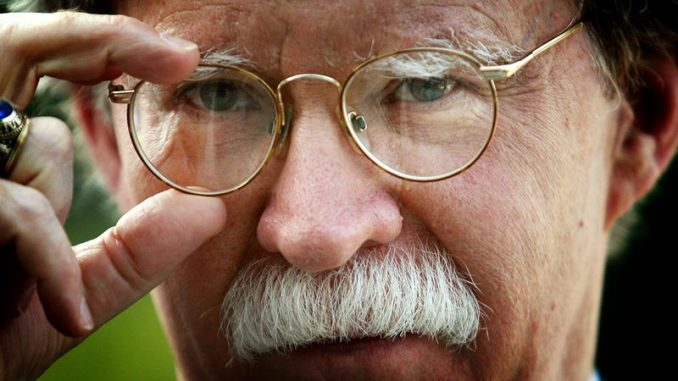 John Bolton paid Cambridge Analytica to pursued public to support war