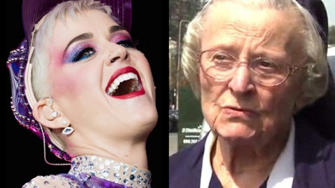 A nun who had begged Katy Perry to stop harassing her died suddenly just hours after shaming the singer as a Satanist in public.