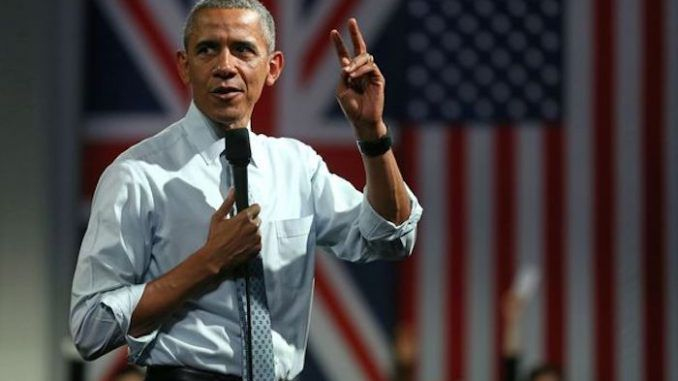 Obama says he wants to create one million little socialist Obama's