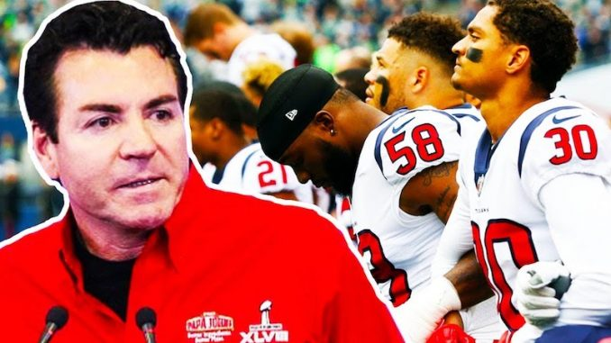 Papa John's has announced they will end their sponsorship of the National Football League in the wake of this season's anthem protests.