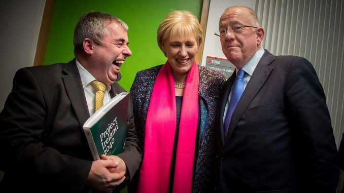 """The Irish government has provoked outrage after being caught paying journalists to write good news stories about """"Project Ireland 2040""""."""