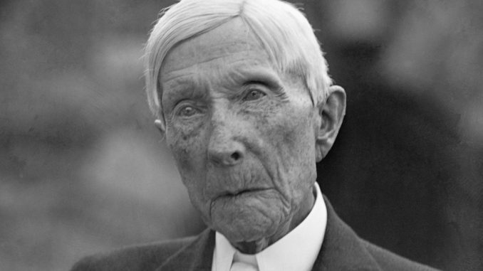 John D. Rockefeller laid the groundwork for the pharmaceutical industry to become a monster that wages war on natural cures.