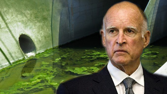 California governor Jerry Brown adds human sewage to drinking water