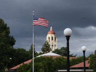 In an email recently sent by the Stanford copyright office, Republican students were told that it was prohibited to use the American flag on any club tee-shirts or logos.