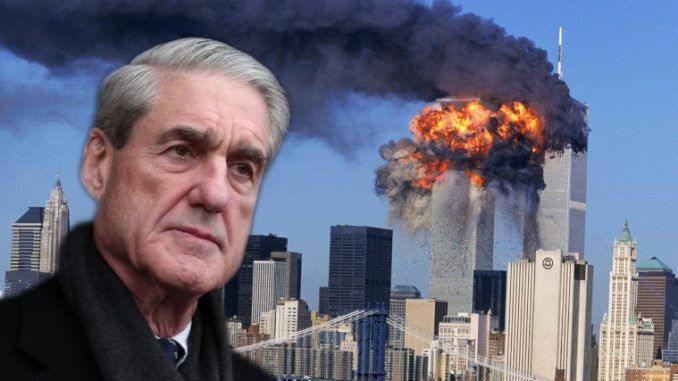 FBI files prove Robert Mueller actively covered up crimes during the 9/11 investigation, raising questions about his role as special counsel.