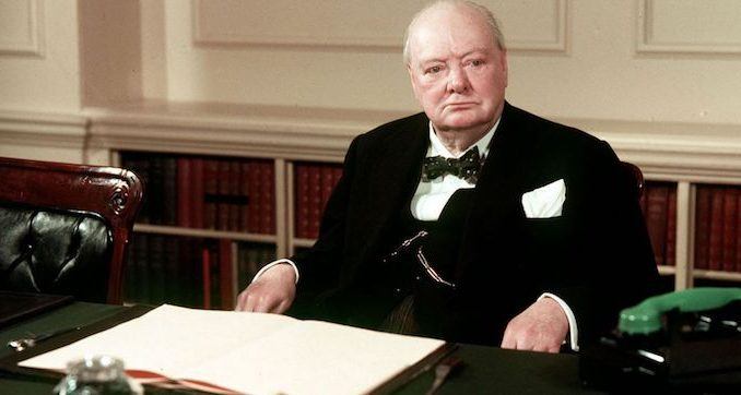 Winston Churchill used chemical weapons against the Russians