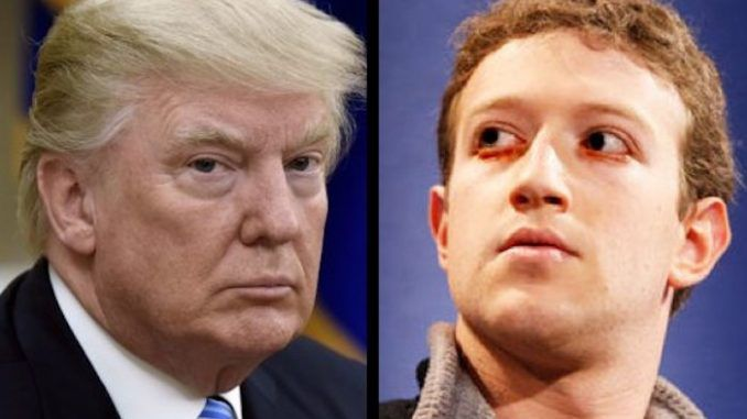 Mark Zuckerberg declares war on Trump and all of his supporters