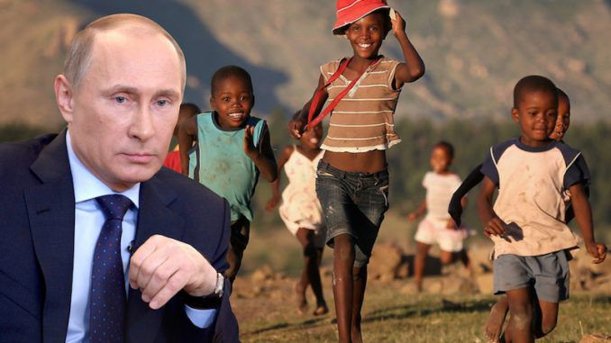 Putin pardon's Africa's poorest countries