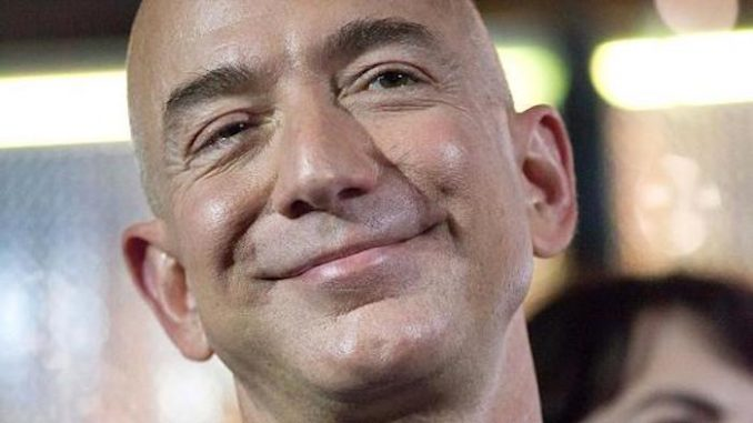 Amazon CEO Jeff Bezo withholds billions in tax whilst staff are forced to live off food stamps